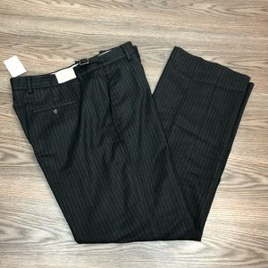 Banana Republic NWT Black w/ Grey Pinstripe Pants